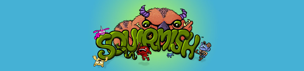 SQUIRMISH: The Card Game of Brawling Beasties!