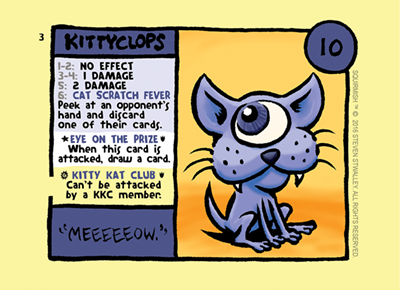 Card 3: Kittyclops